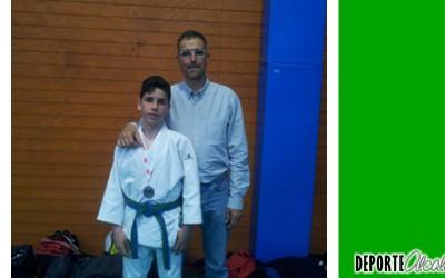 Ignacio Criado, bronce en el Campeonato de Madrid Infantil de Judo