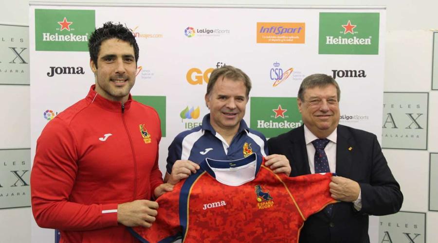 ¡El seleccionador de rugby de España es alcalaíno!