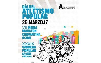 ¡Participa en el Día del Atletismo Popular en Alcalá!