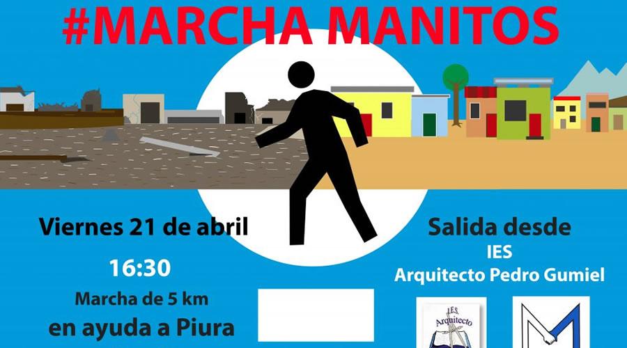 ¡Súmate a la Marcha Solidaria Manitos del IES Pedro Gumiel!