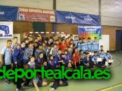 El CD Iplacea infantil se proclama subcampeón de Madrid
