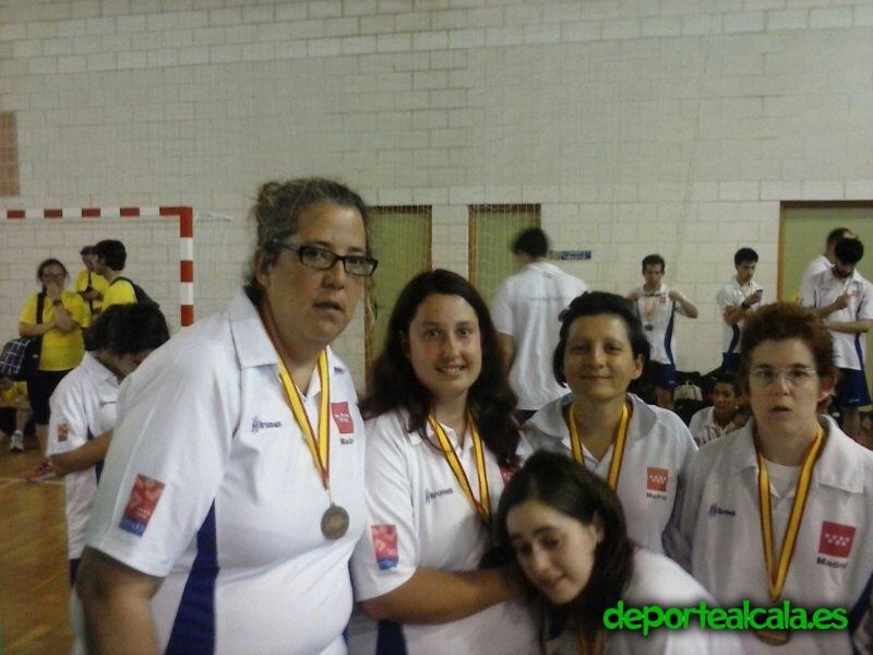 Cuatro jugadoras del Club Juventud Alcalá acuden al Campeonato de España