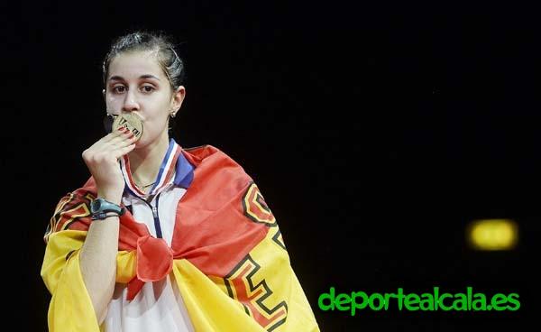 Conviertete en Carolina Marín gracias al Bádminton Alcalá