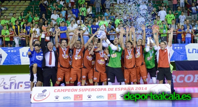 Inter Movistar 3-5 ElPozo Murcia: ElPozo Murcia; Supercampeón de España