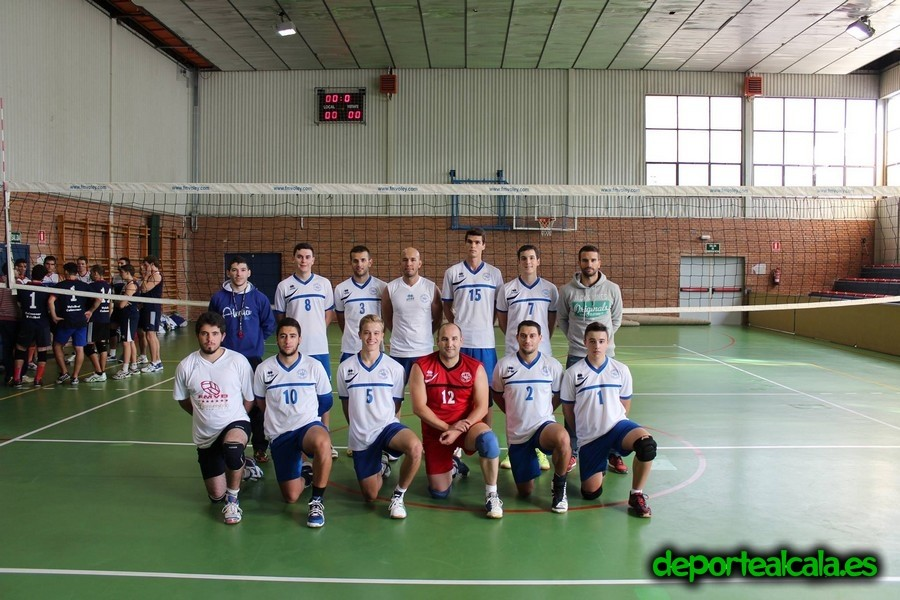 Victoria por 3-0 del CV Alcalá Senior contra el CV Sanse