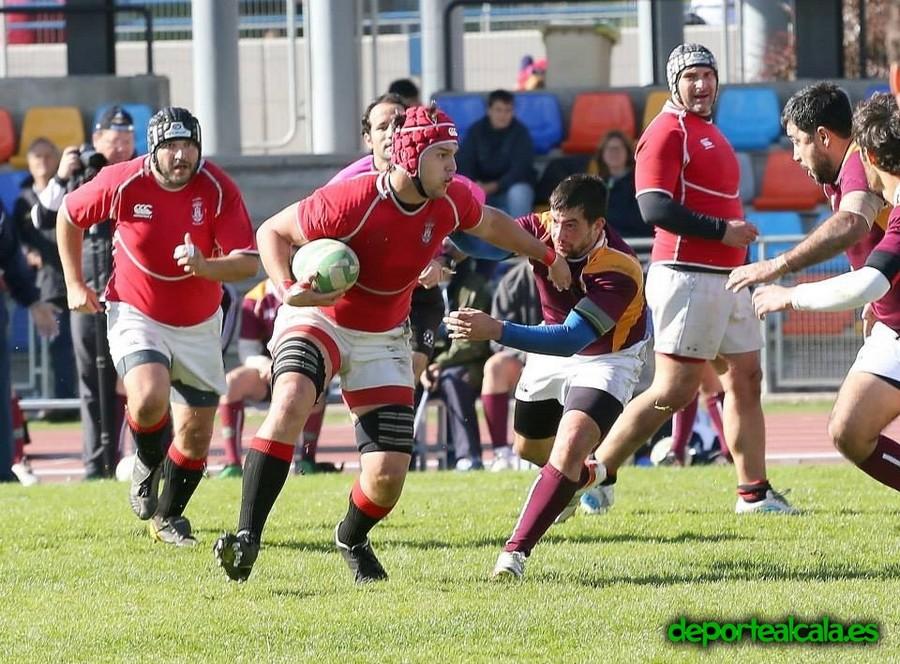 El Rugby Alcalá consigue una gran victoria en Alcobendas