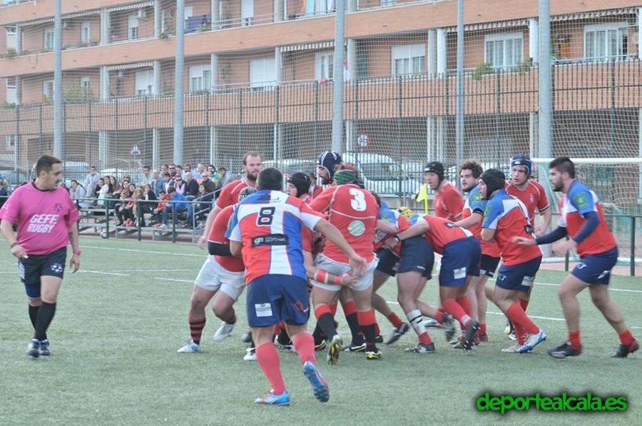 Víctor consigue una victoria in extremis para el Rugby Alcalá