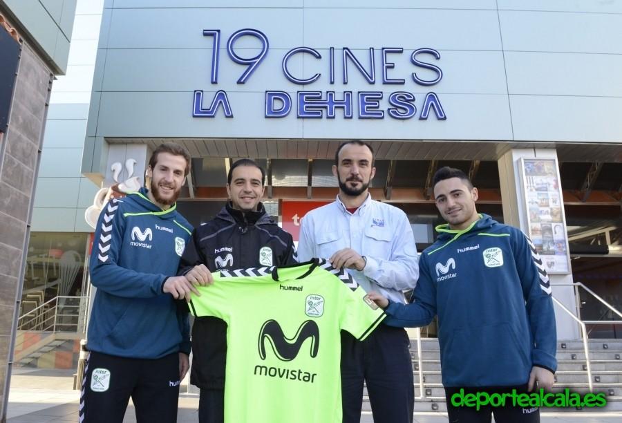 Inter Movistar y Cines La Dehesa se unen para la promoción del deporte y la cultura