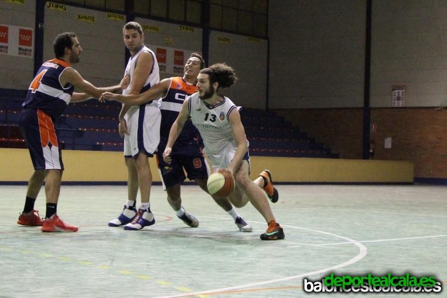 El Baloncesto Alcalá gana por 10 puntos al Majadahonda