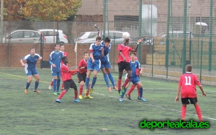 """El Cadete """"C"""" del AD Complutense pasa por encima del Atlético Alcalá"""