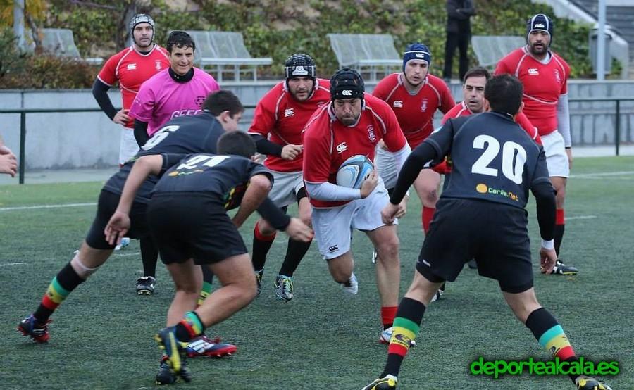 El Rugby Alcalá sufre para ganar en Hortaleza