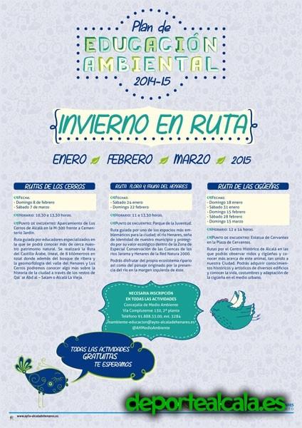 Disfruta de Alcalá y su entorno con «Invierno en Ruta»