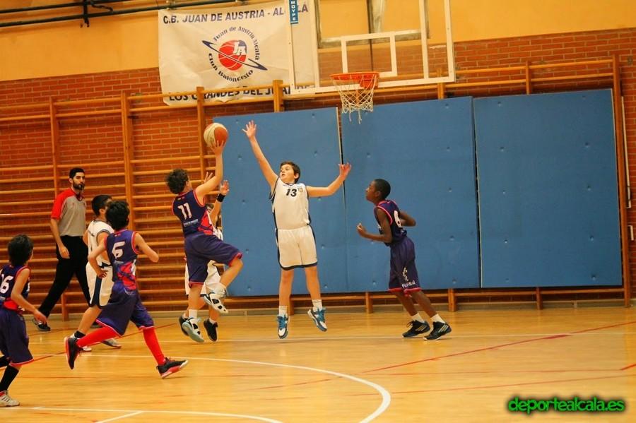 El Benjamín 05 del CBJA gana el derbi al Baloncesto Alcalá por 57-6