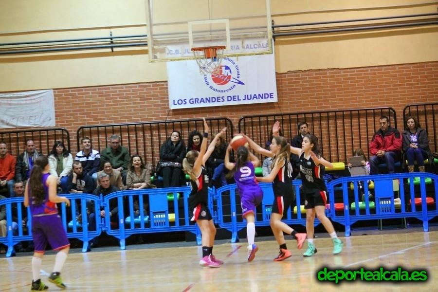 Amarga derrota del infantil femenino del CBJA ante Espacio Torrelodones