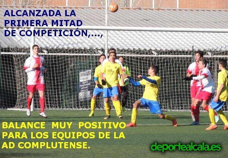 El AD Complutense preferente se impone al RSD Alcalá por 3-2