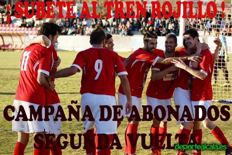 Súbete al tren rojillo y anima al RSD Alcalá en la segunda vuelta