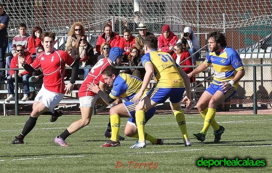 El Rugby Alcalá pierde el liderato ante el CRC Pozuelo