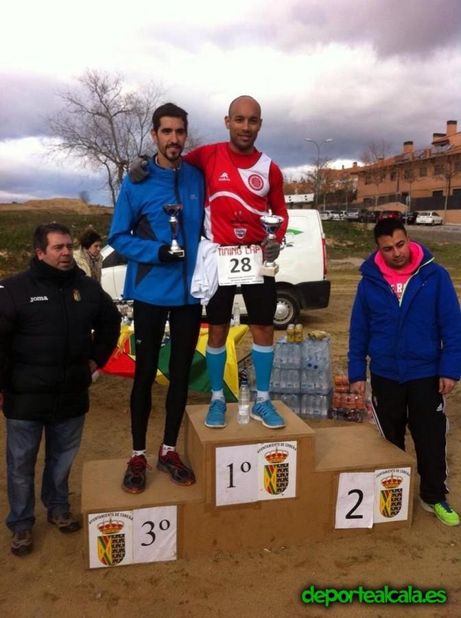 Salvador Cuevas, de Complutum Triatlón, gana la legua de Cobeña en categoría Senior
