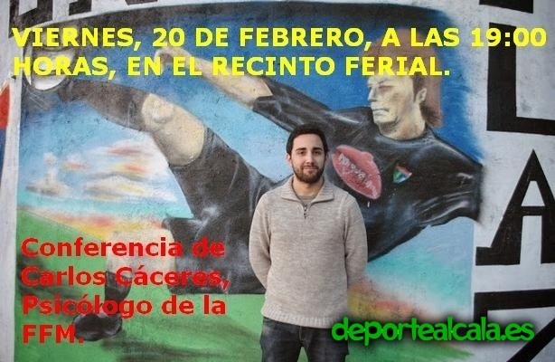 Carlos Cáceres, psicólogo de la FFM, visita la AD Complutense