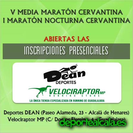 Inscríbete en la V Media Maratón Cervantina del 22 de Marzo