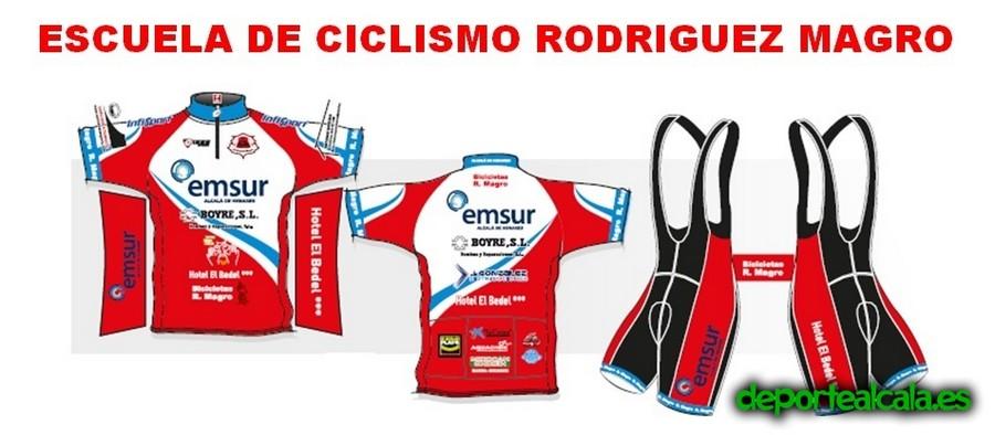 La EC Rodriguez Magro presenta su equipación para la 2015