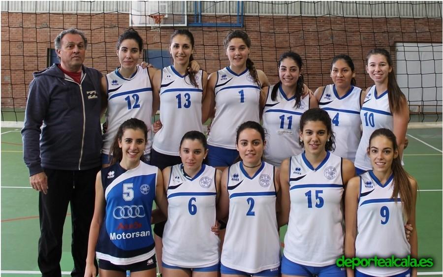 El Juvenil Femenino del CV Alcalá no pudo con el Leganés