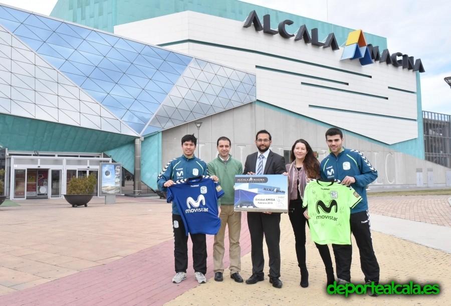 Inter Movistar y el C.C. Alcalá Magna firman un importante acuerdo de colaboración
