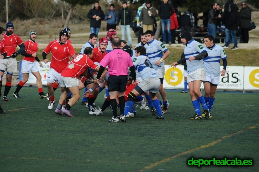 El Rugby Alcalá se impone ante al Olímpico por 7-32