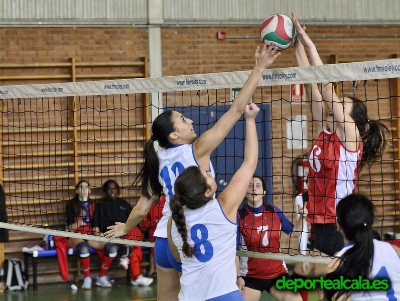 Los equipos senior del Club Voleibol Alcalá empiezan los play-off este fin de semana