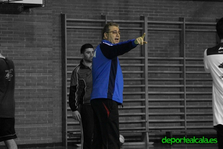 """Pepe Peinado, nuevo entrenador del 1ª Nacional del Baloncesto Alcalá: """"El trabajo y el esfuerzo de cada entreno, nos llevaran a nuestra metas."""""""