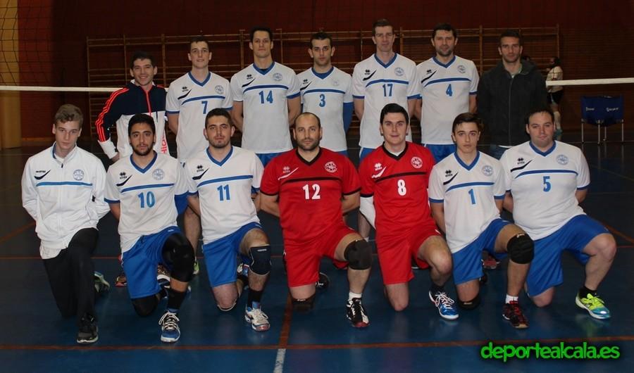El senior masculino del CV Alcalá, campeón desde la primera jornada