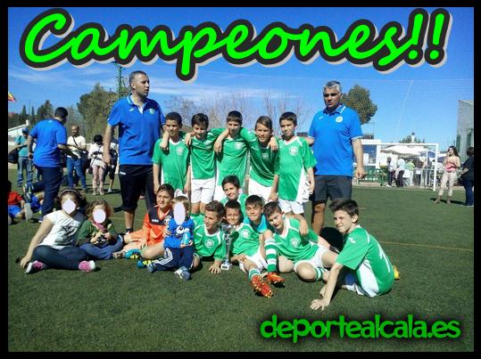 El Alevín «B» del AD Chorrillo se hace con el Torneo Carabaña