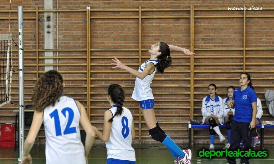 Las infantiles del CV Alcalá caen ante el Cvleganes.com «C»
