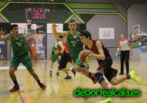 El cadete del Juventud Alcalá se mete entre los ocho mejores de Madrid
