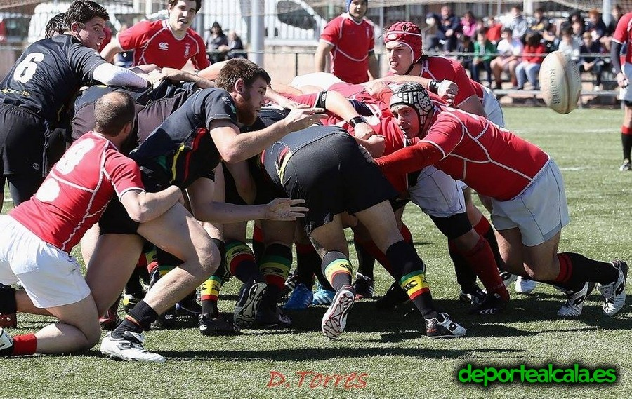 El Rugby Alcalá está cada vez más cerca del Play-off