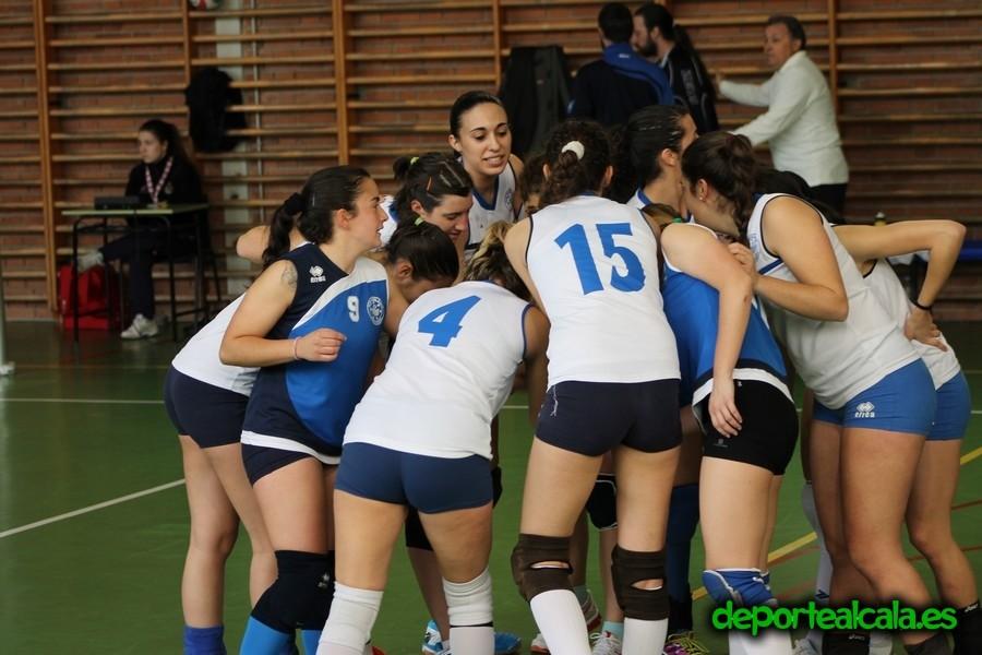 Las senior del Voleibol Alcalá ganan a Alcorcón y se cuelan en la final
