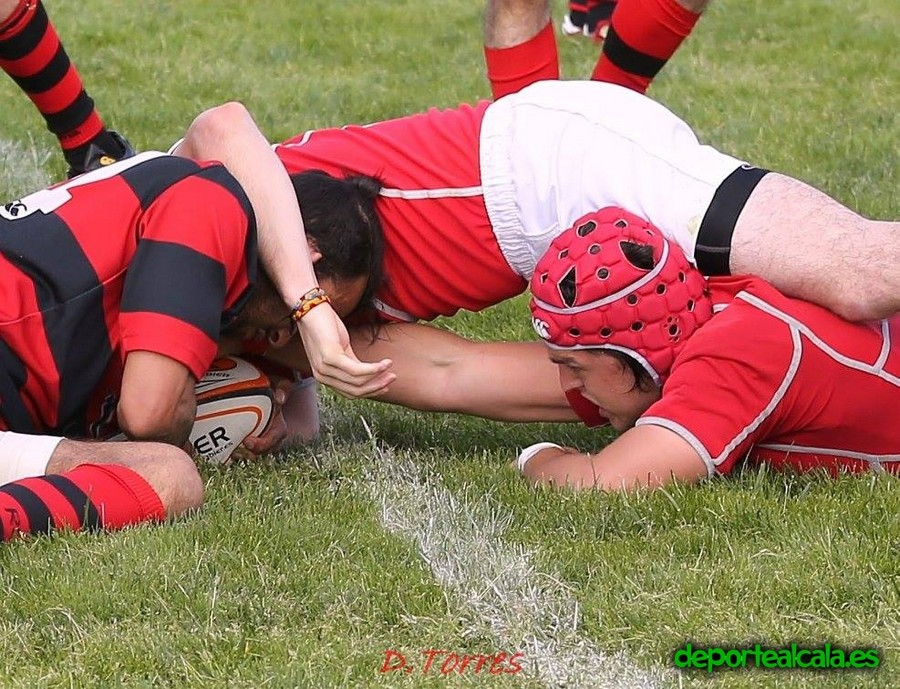 Victoria que deja muy cerca las semifinales al Rugby Alcalá