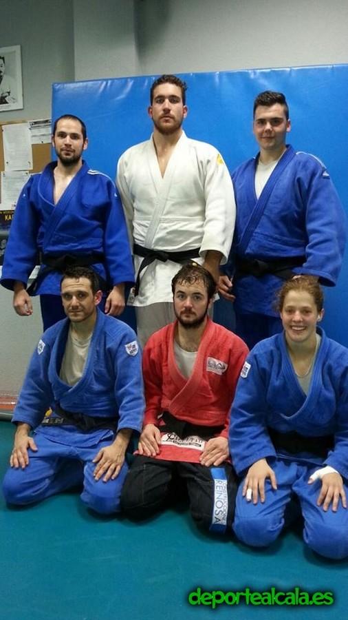 Siete judokas alcalaínos participan este fin de semana en el Campeonato de Madrid