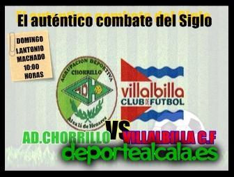 El AD Chorrillo se juega la liga ante el Villalbilla CF