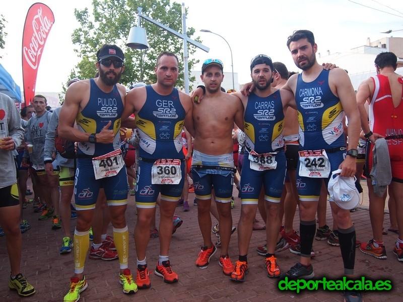El SR2 Triatlón participó en la 26ª Edición del TRIFUENTEALAMO