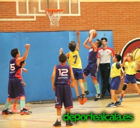 El minibasket del CBJA muestra su poderío con 6 equipos en el Día del Mini