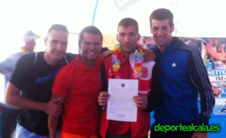 Roberto Toribio, del Complutum Triatlón, logra la clasificación para disputar el Campeonato del Mundo de Triatlón