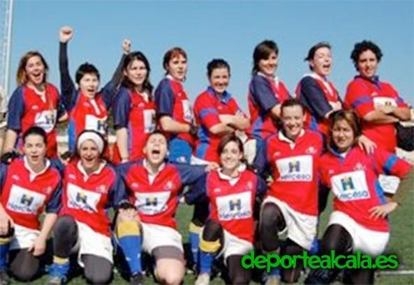 El Rugby Alcalá busca a chicas para la próxima temporada