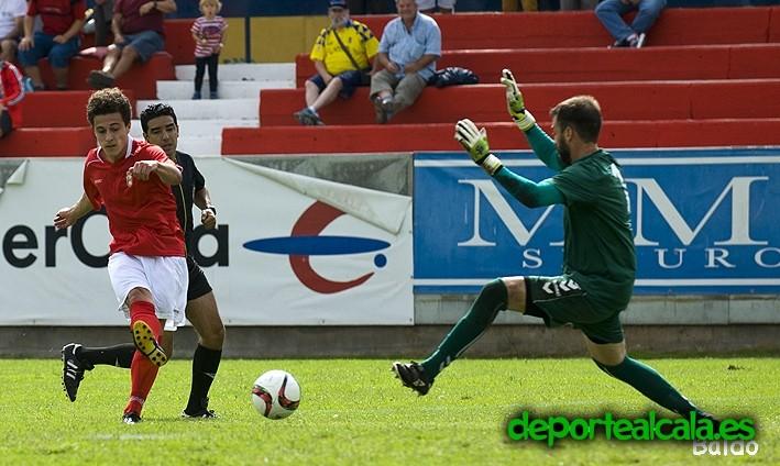 Gran victoria del RSD Alcalá por 7-0 contra Collado Villalba