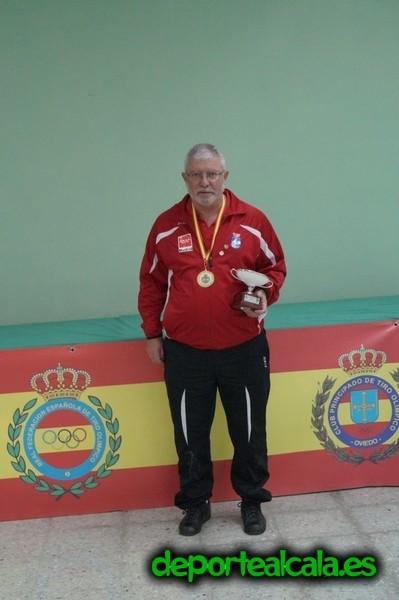 Santiago Gómez Salgado, nuevo campeón de España