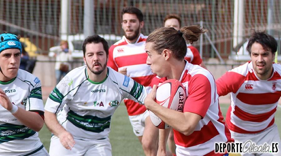 Rugby Alcalá saca un punto bonus en su cuarta derrota