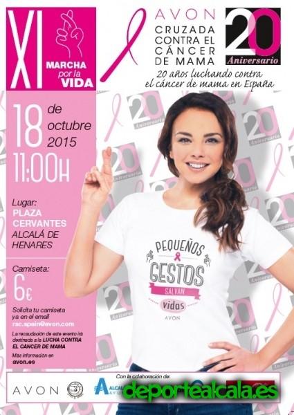 Avón celebra este domingo la XI Marcha Solidaria contra el Cáncer de mama