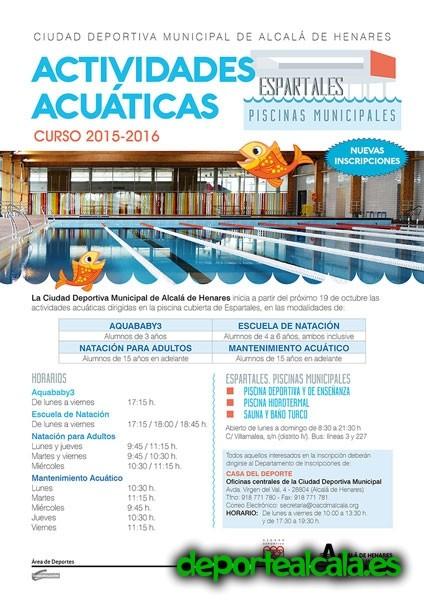 Disfruta en el agua en las instalaciones de la Ciudad Deportiva de Espartales