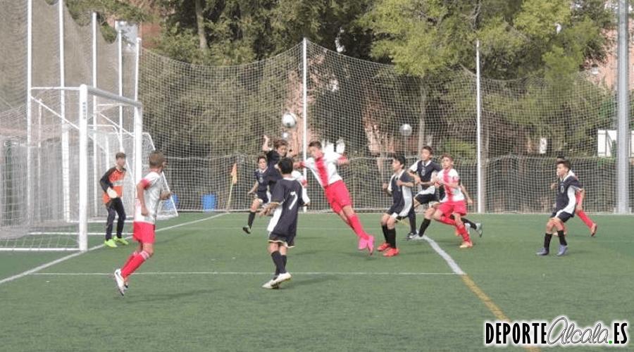 Buen fútbol sin recompensa para el Infantil «B» del AD Complutense