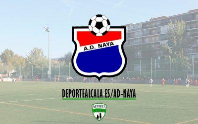Los Juveniles del AD Naya cuentan los partidos por victorias